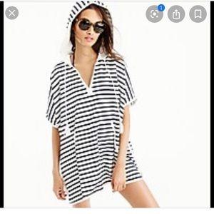J Crew Beach Poncho Dress